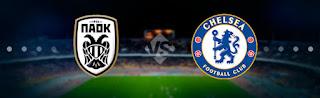Челси – ПАОК прямая трансляция онлайн 29/11 в 23:00 по МСК.