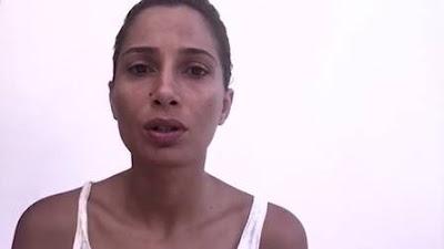 Camila pitanga contra o impeachment