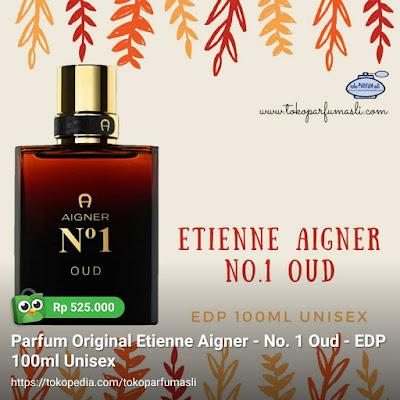 toko parfum asli parfum original etienne aigner no. 1 oud edp 100ml man woman unisex