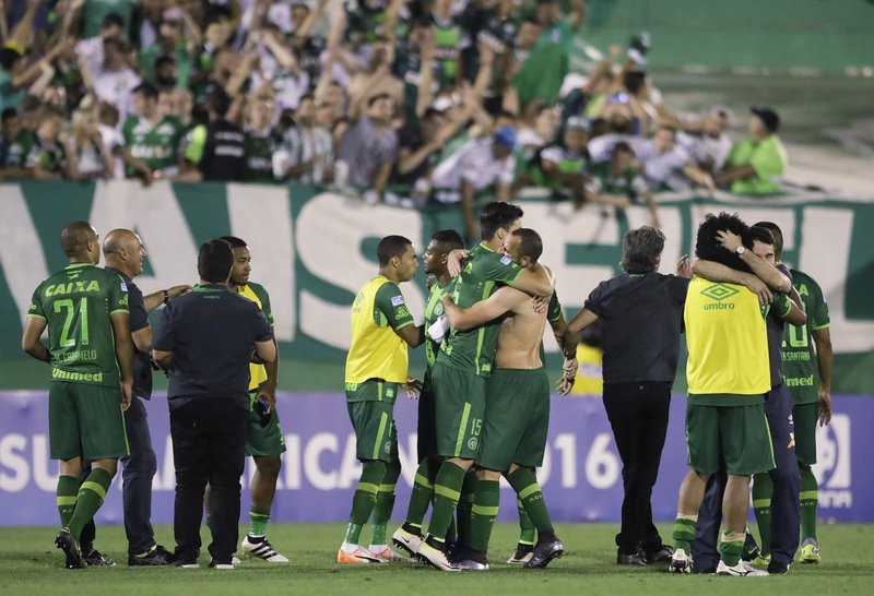 Plane with 77 people on board carrying Brazilian soccer team crashes in Colombia