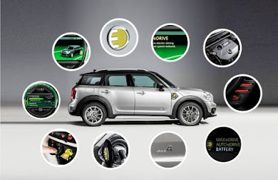 Το MINI Cooper S E Countryman ALL4