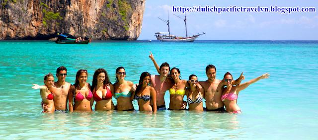 15 phút du lịch Thái Lan toàn cảnh với biển đảo và dạo thuyền trên sông