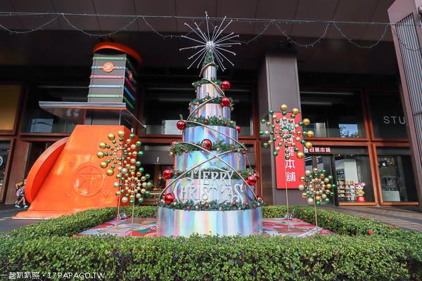 2018台中聖誕節活動,金典綠園道聖誕樹、第六市場