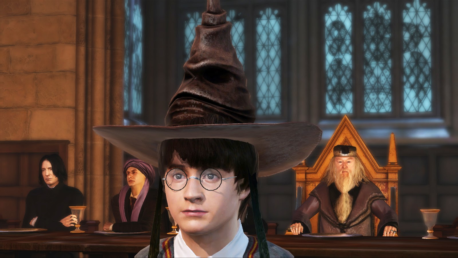 Harry Potter and the Sorcerer's Stone - Movie Quotes ... |Sorting Hat Scene