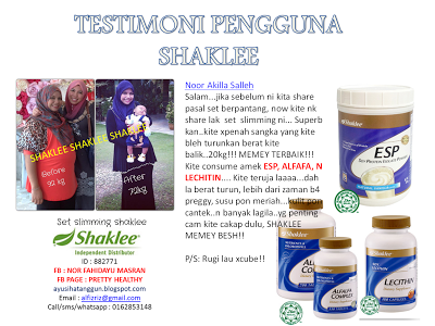 slimming set vitamin shaklee
