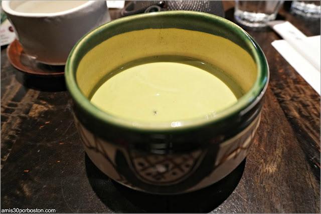 Matcha Latte Hot de Cha-An Teahouse en Nueva York