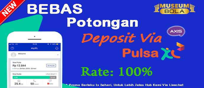 Deposit Via Pulsa XL Tanpa Potongan