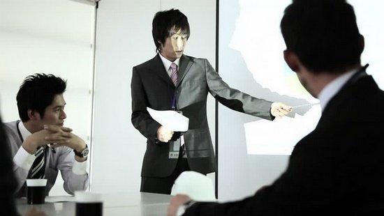 Ilustrasi Kerja Sama Orang Jepang