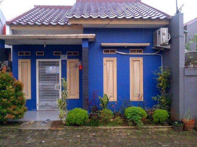 20 Contoh Warna Cat Rumah Minimalis Tampak Depan Sederhana Tapi
