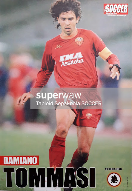 DAMIANO TOMMASI AS ROMA 2001
