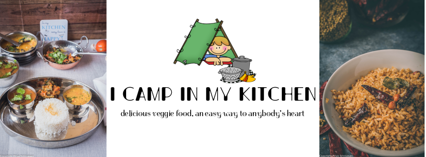 I camp in my kitchen
