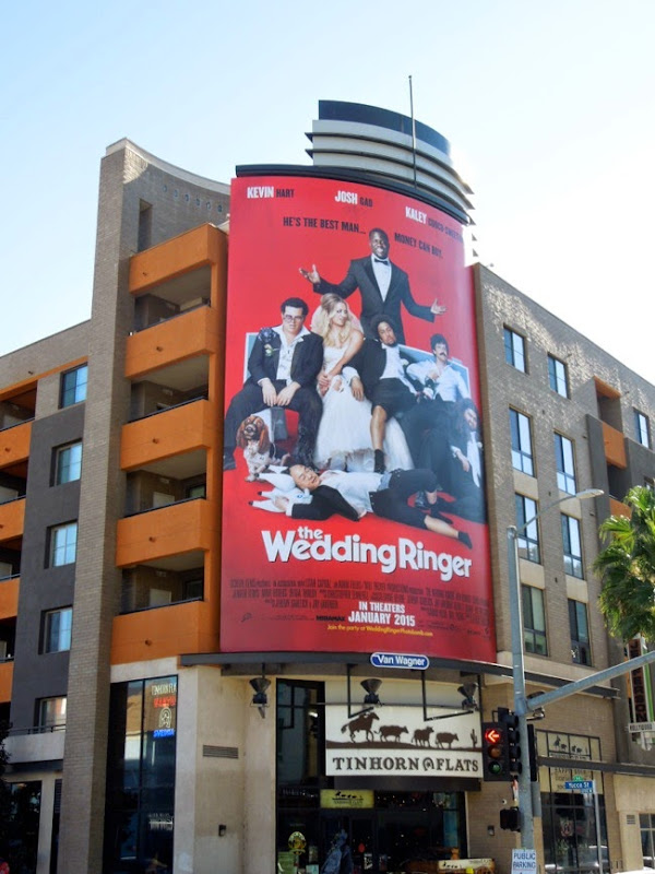 Wedding Ringer film billboard