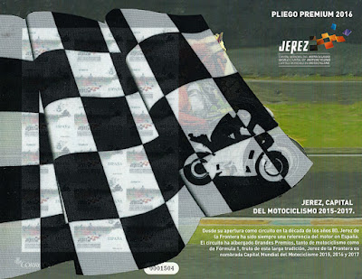 Pliego Premium, Jerez capital del motociclismo 2015-2017