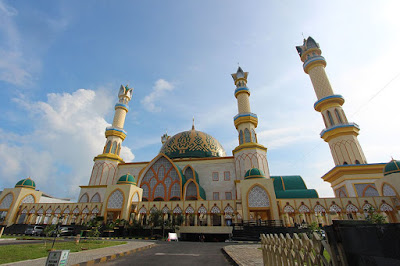 Islamic Centre - 3H2M Lombok Gili Trawangan Ramadhan 2018 - Salika Travel
