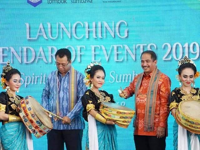Launching CoE 2019, NTB Targetkan 4 Juta Wisatawan