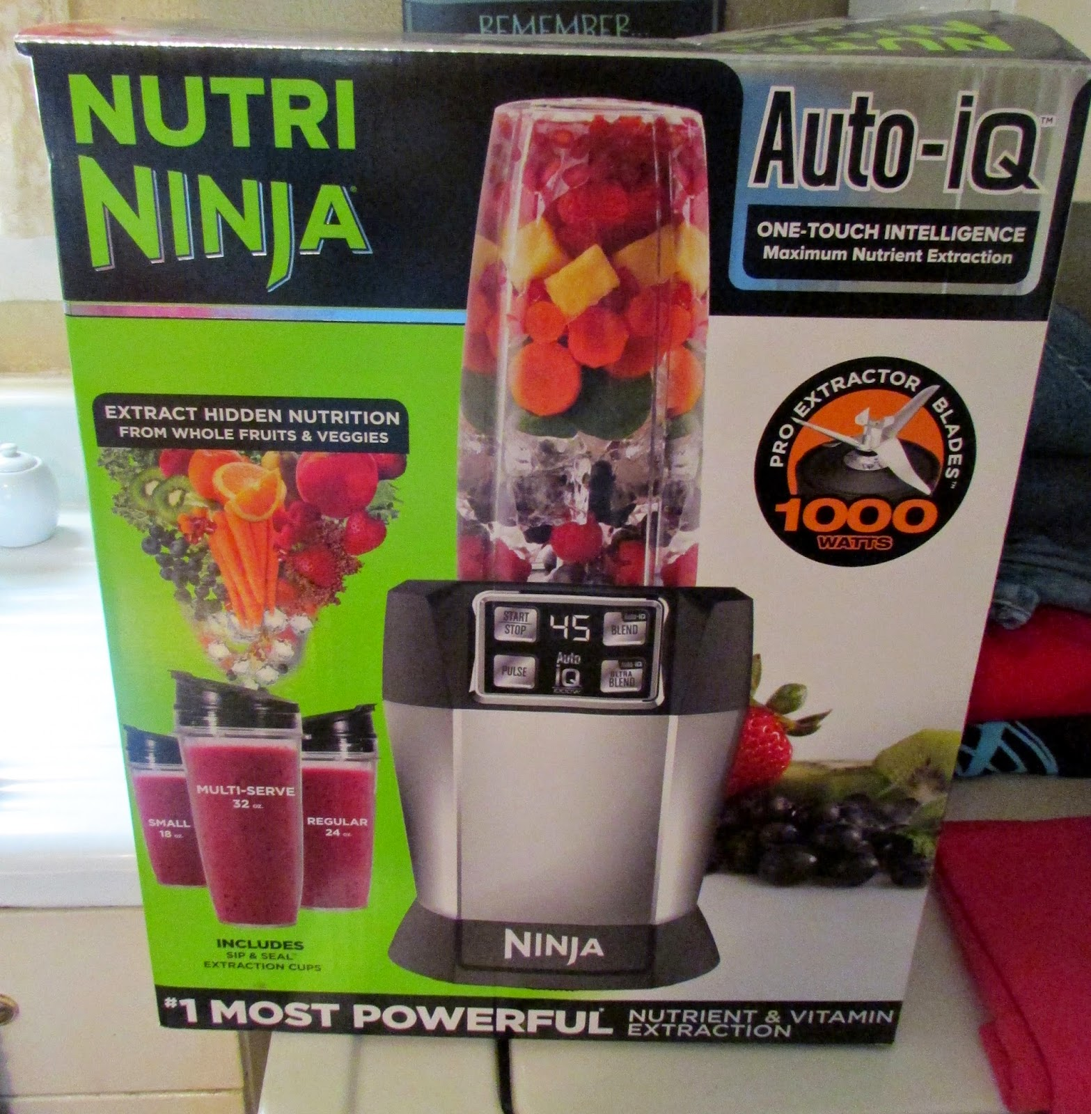 Delicious Smoothies And Juices With The Nutri Ninja Auto Iq Review