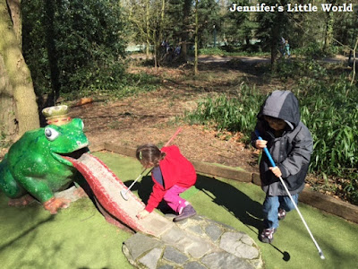 Center Parcs Erperheide mini golf