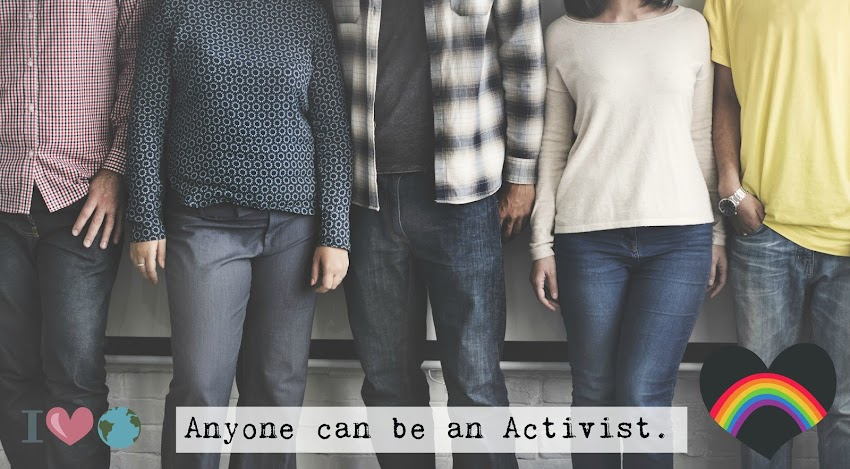 Activism for all.