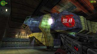 Mars game - Red Faction screenshot spaceship