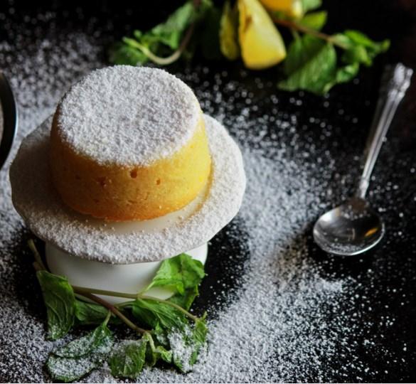 Lemon Lava Cakes