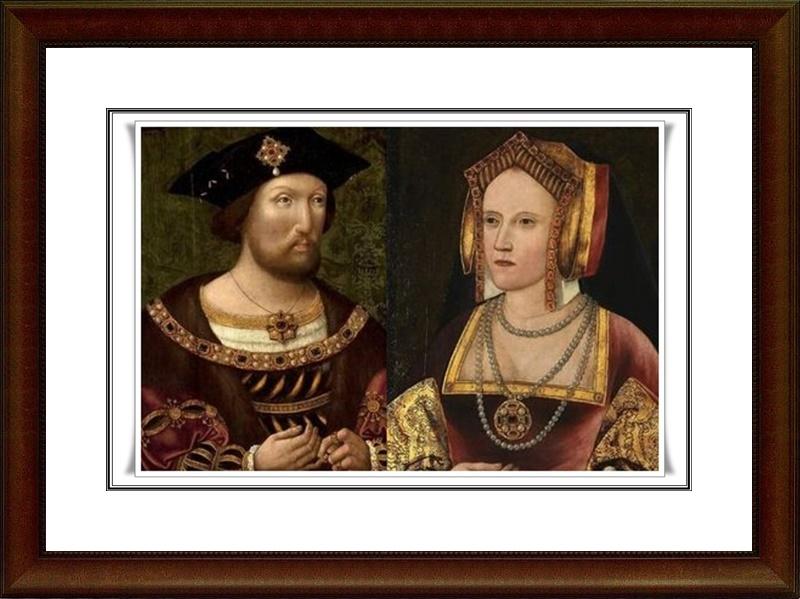 Resultado de imagen para Fotos del matrimonio entre Enrique VIII de Inglaterra y Catalina de Aragón.