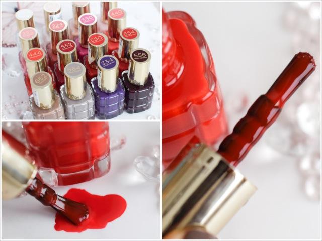 Der Pinsel der L'Oréal Color Riche Le Vernis Öl-Nagellack