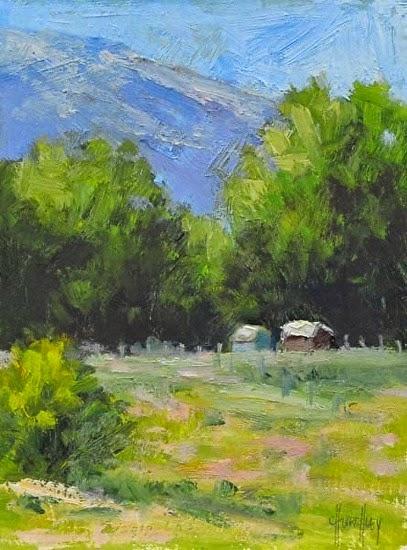 Barbara Churchley Fine Art Colorado Mountain Landscape