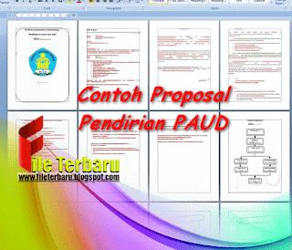 Unduh Contoh Proposal Pendirian PAUD doc  Unduh Contoh Proposal Pendirian PAUD doc