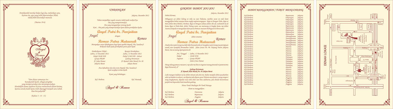 Isi Undangan Khitanan | Souvenir Undangan Pernikahan