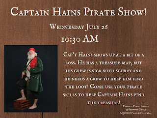 Captain Haines Pirate Show