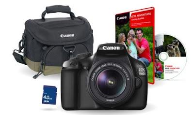 Pack Cámara Canon EOS 1100D a precio de coste