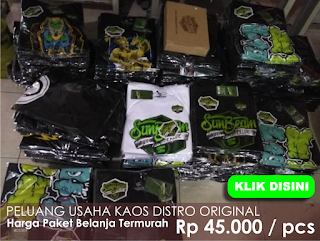 Grosir Kaos Distro Original