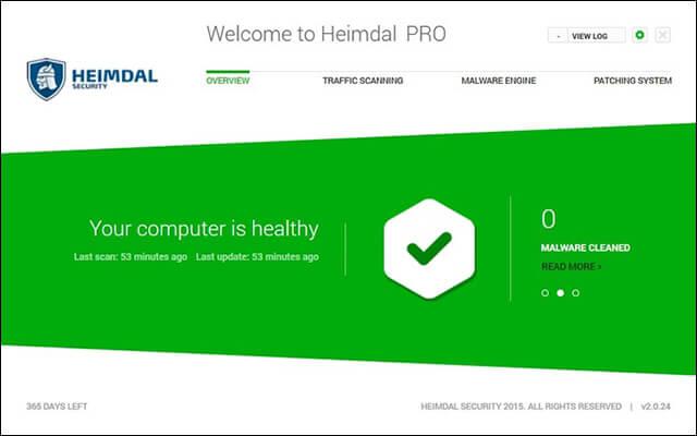 برنامج Heimdal Pro