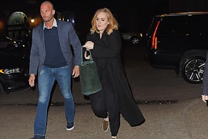Any fool you: Adele bodyguard became the new sex symbol