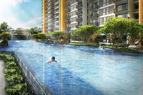 Westwood Residences - Lap Pool