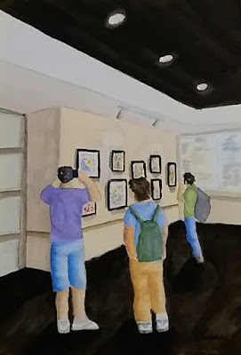 The Exhibit - Watercolor - JKeese