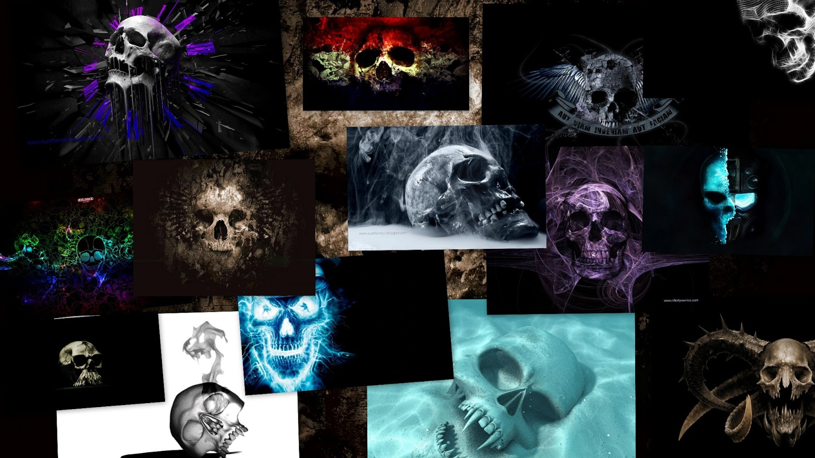 skull wallpaper for windows 7 - photo #29