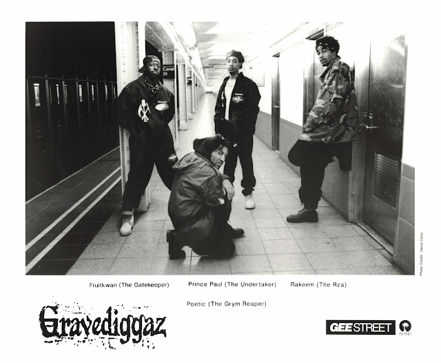 Gravediggaz Publicity Photo RZA Prince Paul