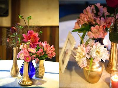 deco composition florale mariage