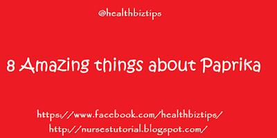 Health Benefits of Paprika