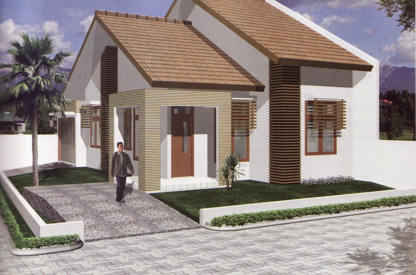 Contohdesainrumah Kontrakan Desain Rumah Sederhana