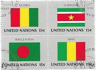 Bandeiras ONU