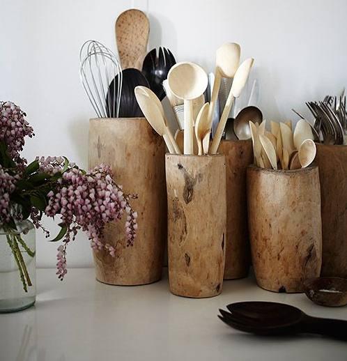como guardar y ordenar tus utensilios en tu cocina con el método konmari de Marie Kondo la magia del orden