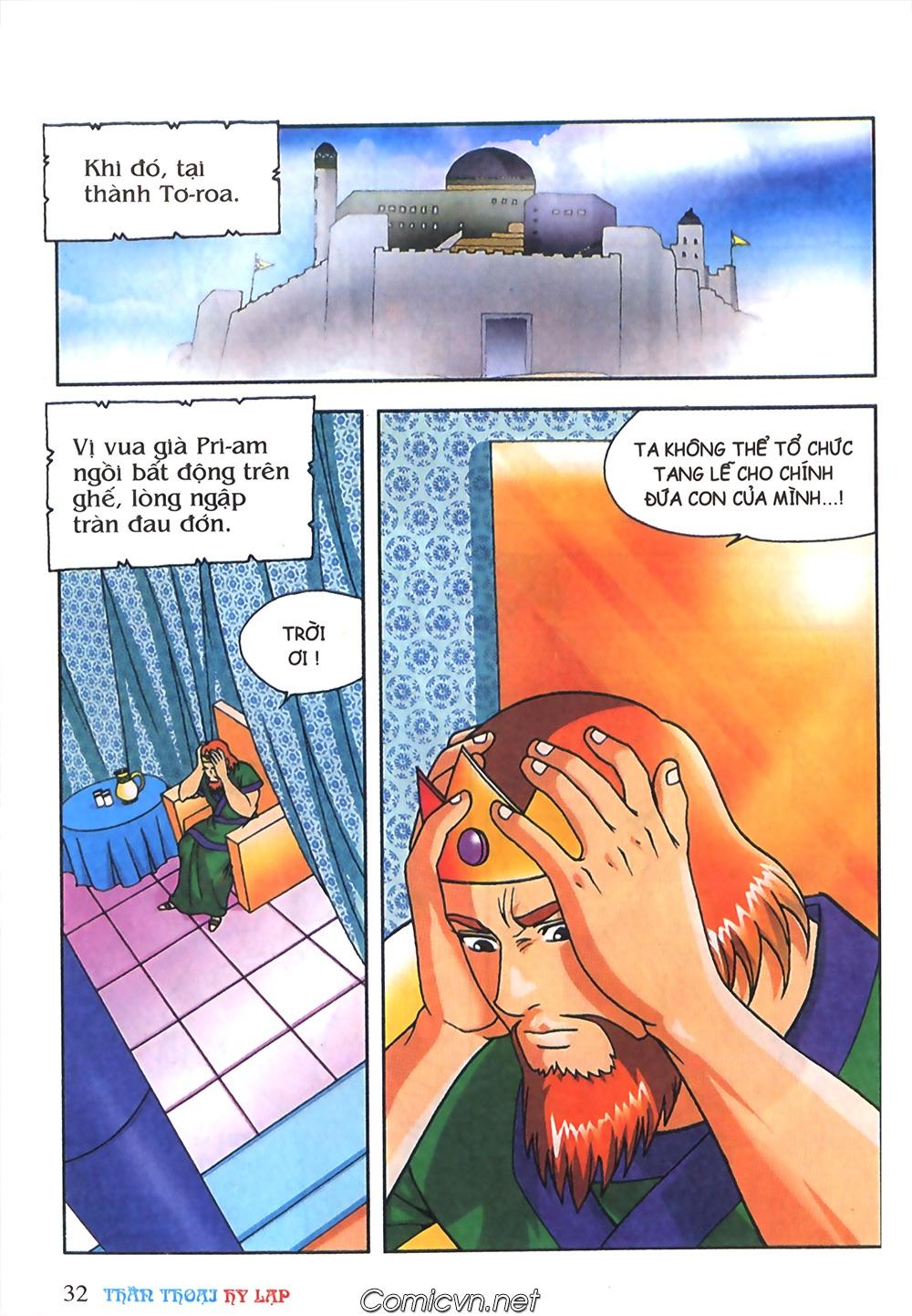 Thần Thoại Hy Lạp Màu - Chapter 63: Lão vương Pri am chuộc xác con - Pic 6
