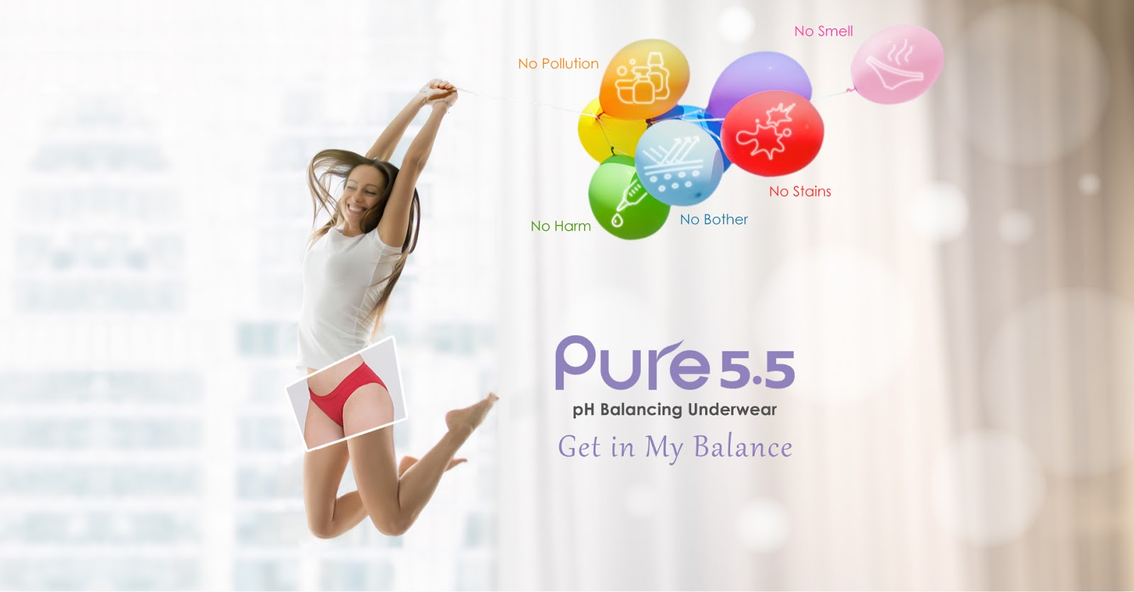 aPure Pure55 5 Big NO's Underwear