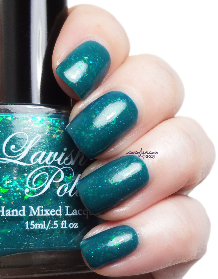 xoxoJen's swatches of Lavish - Meet Me On The Pier