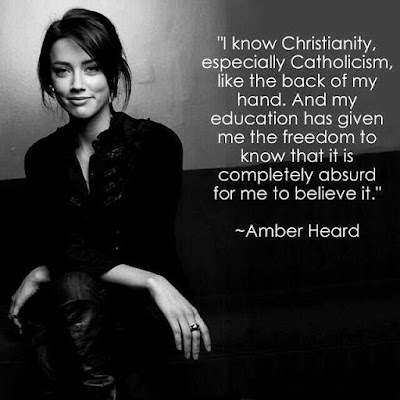 Amber heard Quotes about religion