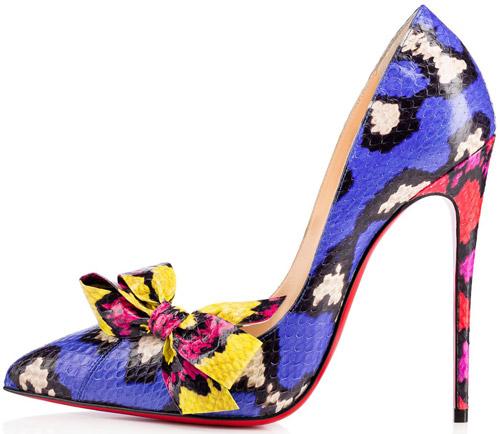 zapatos Christian Louboutin primavera verano 2017