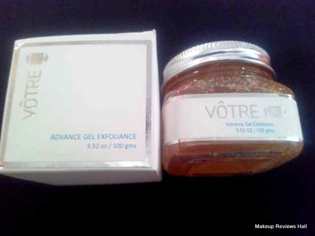 Votre Advance Gel Exfoliance Review