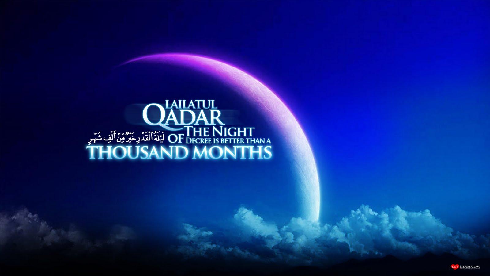 malam lailatul qadar malam seribu bulan
